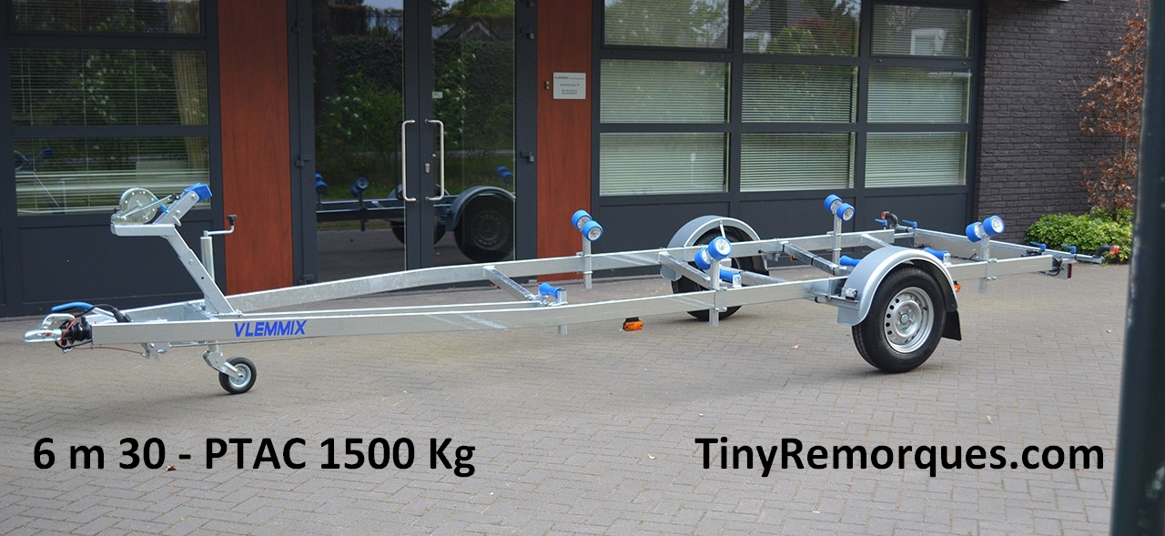 Boot trailer 6,3M 1500 Kg