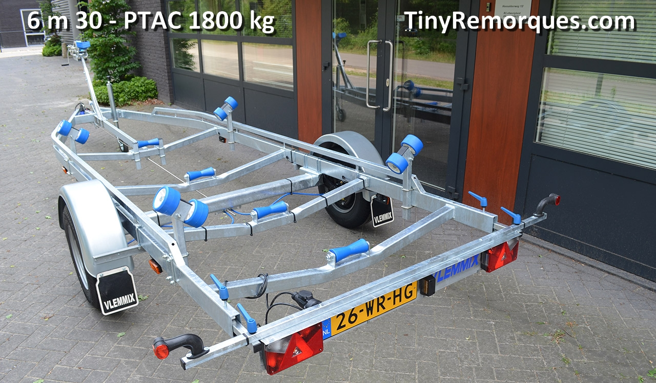 Boot trailer 6,3M 1800 Kg