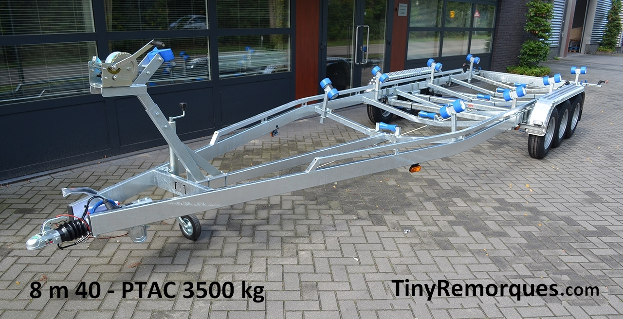 Boot trailer 8.4M 3500 Kg